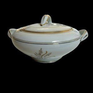 NORITAKE NEVILLE Sugar Bowl with Lid